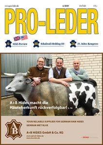 Fachmagazin PRO-LEDER Titelseite